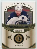 16/17 BLACK DIAMOND BASE BLAKE WHEELER 162/249 JETS *44979
