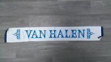 van Halen logo metal rock Vintage music white scarf sjaal