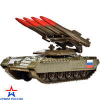 Soviet Russian Tank Anti-Aircraft Missile Buk Complex Diecast Model Metal Toy