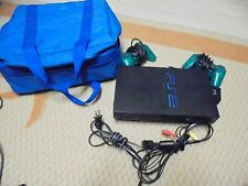 PLAY STATION 2 & 2 Controllers & (Carrying Case) SCPH-30001                (#4)
