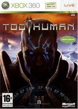 TOO HUMAN                  -----   pour X-BOX 360  ------ TBE
