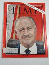 Time Magazine- July 19, 1963- Conrad Hilton - Vintage