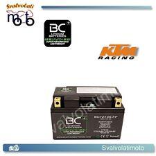 KTM LC4-E 640 SUPERMOTO  03/06 BATTERIA A LITIO BC LITHIUM BATTERIES BCTZ10S-FP
