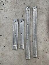 Ford Scuff Plates Set Of 4 Xr Xt Xw Xy Sedan Wagon Fairlane Gt Gs