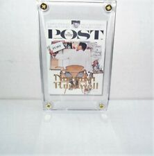 COMIC IMAGES NORMAN ROCKWELL 2 GOLD SIGNATURE CARD 24KT