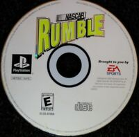 Nascar Rumble Ps1 Playstation one Disc Only TESTED Rare EA Sports