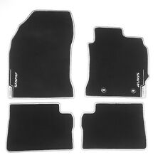 GENUINE TOYOTA AURIS HYBRID VELOUR FLOOR MATS MAT SET BLACK SET 2015-2019