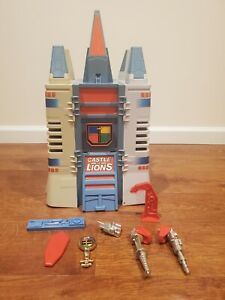 1984 Panosh Place Voltron Castle of Lions with accessories Near Complete