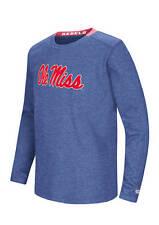 NWT Ole Miss Rebles long sleeve Waffle Knit T Youth size Medium $42