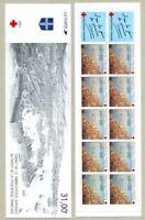 TIMBRES DE FRANCE CARNET CROIX ROUGE ANNEE 1991 YV N° 2040 ** NON PLIE