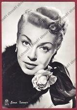 LANA TURNER 15 ATTRICE ACTRESS ACTRICE CINEMA MOVIE Cartolina FOTOGRAFICA 1955