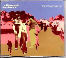 CHEMICAL BROTHERS - HEY BOY HEY GIRL - 1999 CD SINGLE