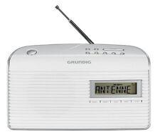 Grundig Música 61 Empfangsstarkes radio blanco