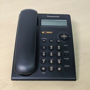 Panasonic Corded Phone Landline KX-TSC11CB Wall Mountable Caller ID LCD Open Box