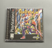 Pandemonium (Sony PlayStation 1, 1997) PS1 Complete CIB Black Label Tested