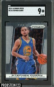 2013-14 Panini Prizm #176 Stephen Curry Golden State Warriors SGC 9 MINT