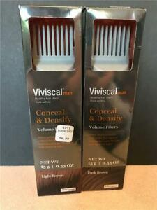 Viviscal~ Conceal & Densify ~ Volume Fibers~ For Men ~ Free Shipping 15g/0.53oz
