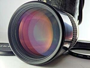 Nikon Ai-s Nikkor ED 180mm F2.8 Ais MF Telephoto Lens From JAPAN JP SLR [N.MINT]