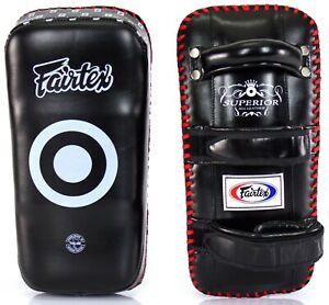 Fairtex KPLS2 Superior Thai Pads, Curved for The Pro, Absorbs All Kicks