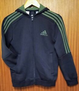Genuine ADIDAS Tracksuit Joggers & Hoodie Size LB Large Boys Age 11-12 RRP £75