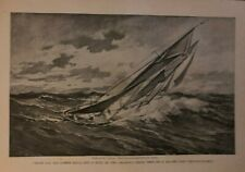 1906 Cod Fishing Gloucester Georges Banks illustrated