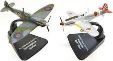 Supermarine Seafire and Kawasaki KI.61 Hien, Two Plane Set 1:72 Scale Models