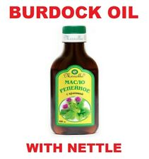 Burdock Root Oil with Nettle Natural Hair Loss Treatment Nutrition MIRROLLA