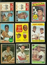 1960'S  TOPPS VINTAGE  LOT 170 CARDS , MANY STARS INCLUDED