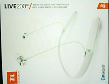 "JBL LIVE 200BT Wireless Headphones White - Hands-Free Calling ""NEW"""