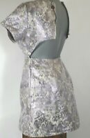 Juniors Motel Rocks Dress Purple Lilac Haze Cut Out Open Back Short size XS