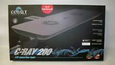 *NEW* Cobalt Aquatics C-RAY 200 LED Aquarium Light, White