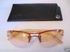 Damen Retro Sonnenbrille RAN + Etui bollé vintage NEU /B41