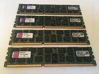 16GB (4x4GB) DDR3 RAM for DELL R310 Kingston KTD-PE310Q/4G ECC Quad Rank 1066MHz
