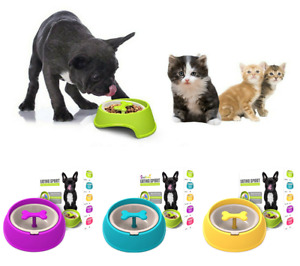 Slow Feeder Dog Bowl Eating Interactive Down Feed Large Feed Pet Bloat Stop UK