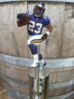 MINNESOTA VIKINGS Tap Handle Bennett RB Beer Keg  NFL FOOTBALL Purple Jersey