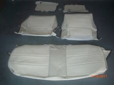 1970 CADILLAC DeVille CONVERTIBLE Seat Cover Upholstery Skins WHITE