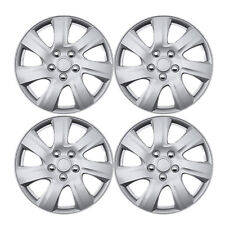 """New 4 Pcs Silver 16"""" Hub Caps Wheel Cover Set Toyota Camry Style 2010-2012 1021"""