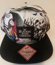 Disney The Nightmare Before Christmas Snap Back Adjustable Hat Cap