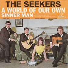 "The Seekers ""A World Of Our Own"" & ""Sinner Man"" Record & Picture Sleeve NM Cond."