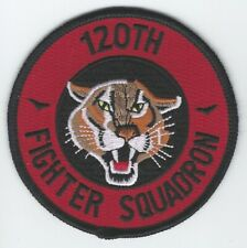 USAF 120th FIGHTER SQ  PATCH -           COANG                             COLOR