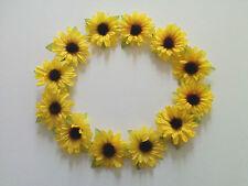 Sunflower Hair Garland/Headband