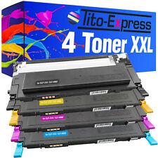 4 Toner XXL PlatinumSerie für Samsung CLP-310 CLP-315 CLX-3175 CLX-3170 FN