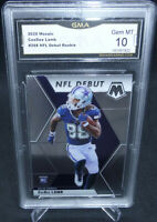 2020 Panini Mosaic CeeDee Lamb NFL Debut #268 GMA Graded Gem Mint 10 COWBOYS #2