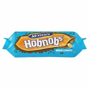 Mcvitie's Hobnobs Milk Chocolate Biscuits 262g - Sold Worldwide from UK