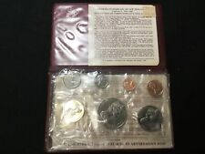 New Zealand - 1983 - Annual Uncirculated Coin Set - 50th Anniversary (Of Coinage