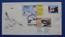 Canada (CN08/AB04) 1992 Canada Wildlife Habitat - Alberta Game Bird FDC
