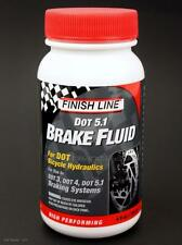 Finish Line 5.1 DOT Bike Hydraulic Disc Brake Fluid 4oz for use Dot 3/4/5.1