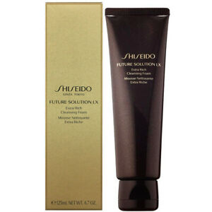 Shiseido Future Solution LX Extra Rich Cleansing Foam 4.7fl.oz/125ml [US Seller]