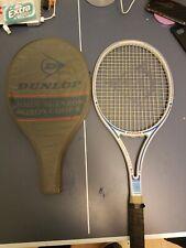Dunlop John McEnroe Midsize Tennis Racket Grip 4 3/4 Collectors Item