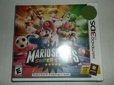 Mario Sports Superstars (Nintendo 3DS, 2017) BRAND NEW baseball soccer